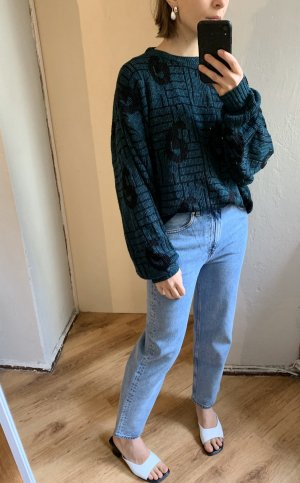 True vintage 30% Wolle Pullover