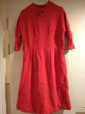True Vintage Vestido de lana rojo