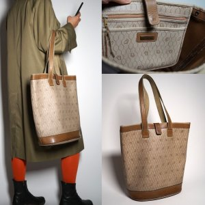 True Vintage 70s/80s Shopper Bag by Christian Dior