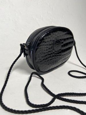 True Vintage 80' leather crossbody bag by Fendi