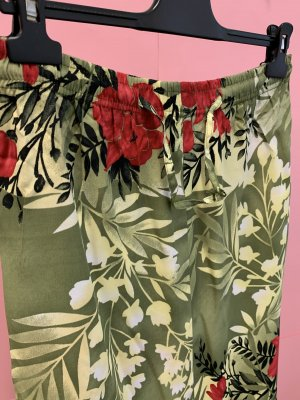 Vintage Maxi Skirt multicolored viscose