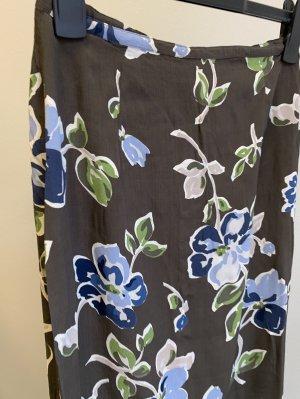 Vintage Spódnica midi Wielokolorowy Wiskoza