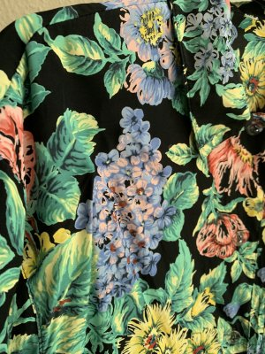 True vintage 90er 100% Viskose Shirt-Bluse
