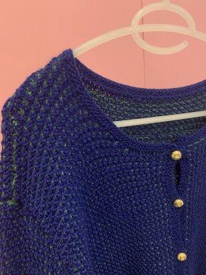 Vintage Pull oversize multicolore laine