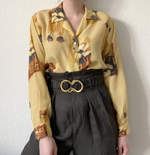 True Vintage 90s Bluse Retro Blumen Bluse
