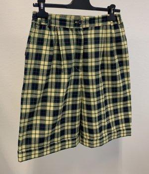 Vintage Pantaloncino a vita alta multicolore Cotone
