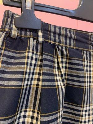 Vintage High-Waist-Shorts multicolored cotton