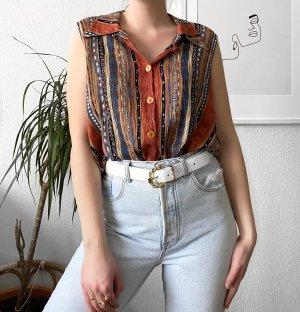 True Vintage Bluse 90er Boho Bluse