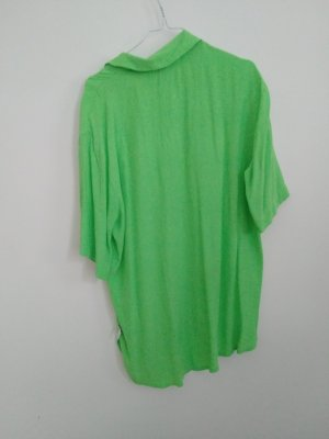 True Vintage Bluzka oversize jasnozielony-zielony