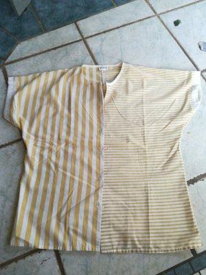 Vintage Blouse topje wit-goud