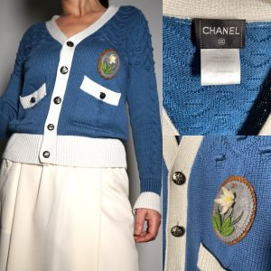 True Vintage cashmere cardigan by Chanel size S/M