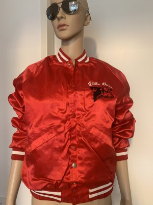 King louie College Jacket red nylon