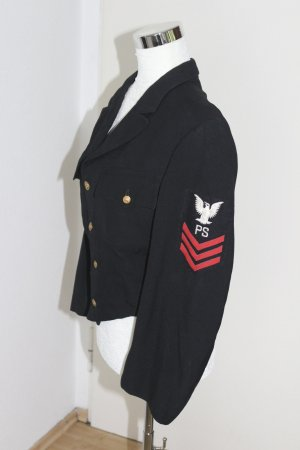 Kurtka wojskowa czarny