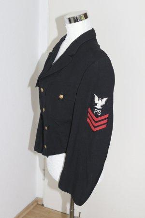 TRUE VINTAGE CRAVENETTE jacket Uniformjacke Uniform Militär Jacke PS Fliegerjacke Marine Gr 40
