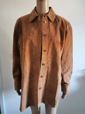 True Vintage Damen Echtleder Jacke Mode Aktuell braun Größe 44 NEU