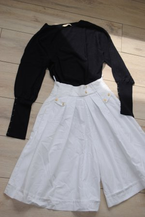 Vintage Gonna culotte bianco sporco-bianco