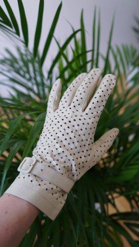 True Vintage Echtleder-Handschuhe in Gr.XS