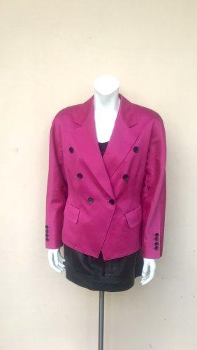 True Vintage Escada Blazer Gr. 38 Hot Pink Powersuit Jacke Schulterpolster Achtziger Neunziger