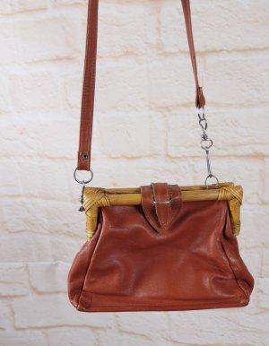True Vintage Frame Bag multicolored leather