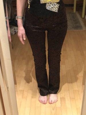 BoYco High Waist Trousers black-brown