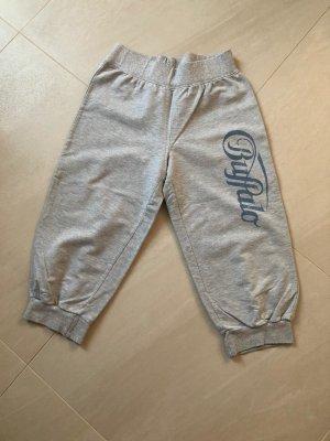 Buffalo Pantalone a 3/4 grigio chiaro-blu fiordaliso Cotone