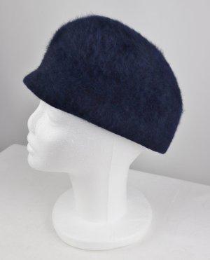 Vintage Chapeau cloche bleu