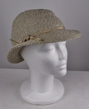 Vintage Sun Hat light grey-natural white