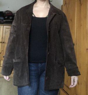 Vera Pelle Between-Seasons Jacket dark brown-brown