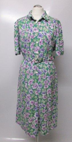 Vintage Midi Dress multicolored mixture fibre