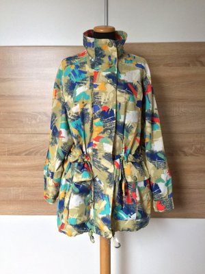 Vintage Imperméable multicolore