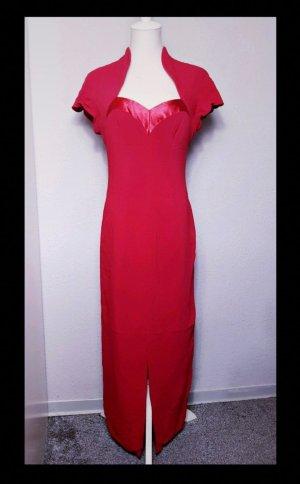 True Vintage Maxikleid, Abendkleid, Empire, Rot, elegant