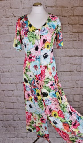 Vintage Blouse Dress multicolored