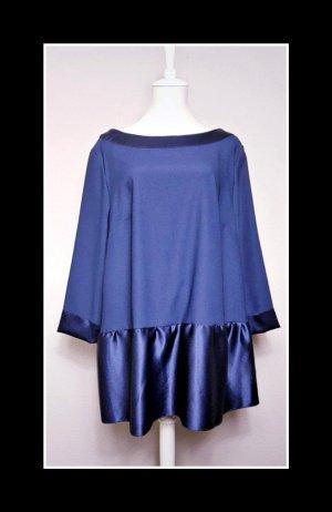 True Vintage Minikleid, dunkelblau, locker geschnitten