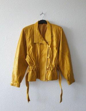 True Vintage Original 80 er Vintage Lederjacke Größe M