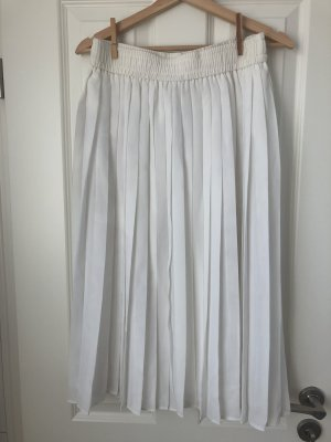 True Vintage Pleated Skirt white