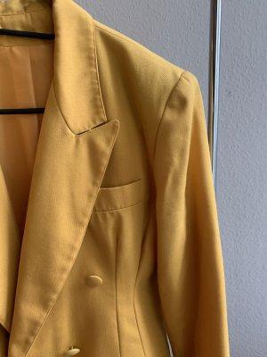 Vintage Blazer stile Boyfriend multicolore Cotone