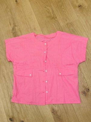 True Vintage oversized Damenbluse/ Oberteil/ Shirt made in UdSSR Gr. 40-42/ L-Xl
