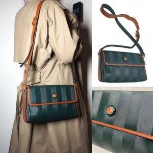 True Vintage Rare Fendi Janus Crossbody Tasche
