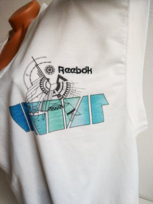 Reebok Cardigan lungo multicolore