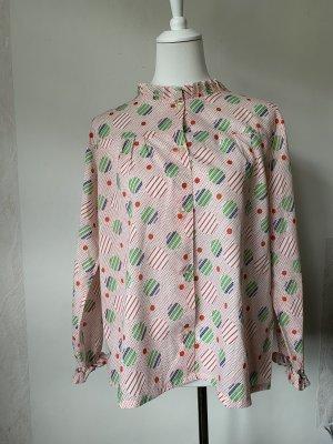 True Vintage Bluzka z długim rękawem Wielokolorowy