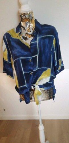 True Vintage Oversized Blouse primrose-blue