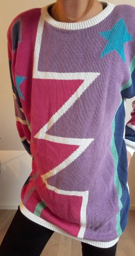 True Vintage Sweaterjurk veelkleurig