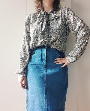 Alba Fornari Tie-neck Blouse multicolored