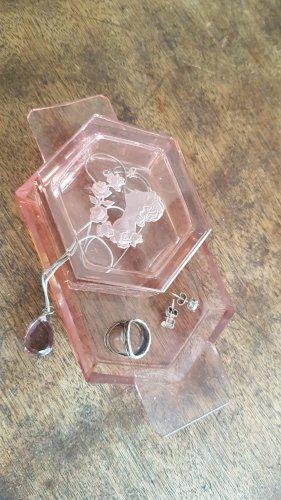 Vintage Gold Ring pink