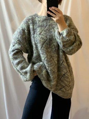 True vintage schönes handmade Sweatshirt-Pullover