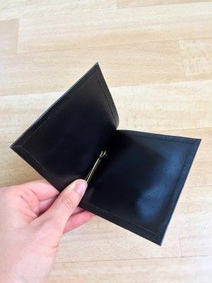 True Vintage Porte-cartes noir-doré cuir