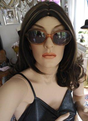 Original Vintage Gafas de sol ovaladas nude-beige