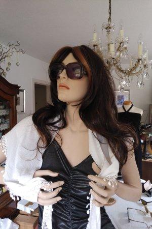 Original Vintage Angular Shaped Sunglasses bronze-colored-light brown