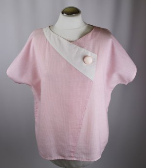Vintage Blusa caída multicolor
