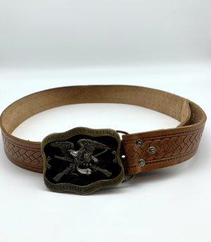 Heritage Leather Belt brown